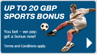 bonus bet at home 50