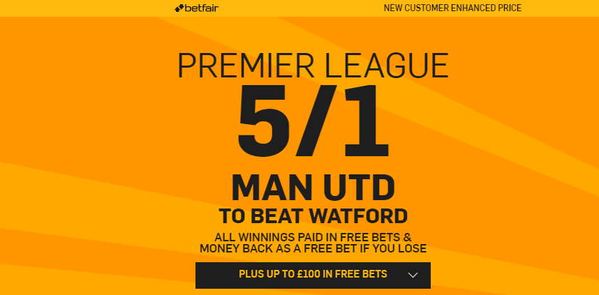 Betfair. Bonus. Premier League. MancUni