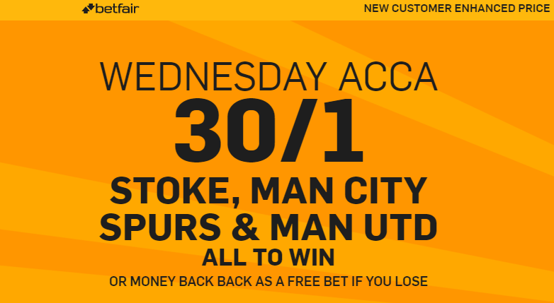 Betfair. Bonus. Premier League.