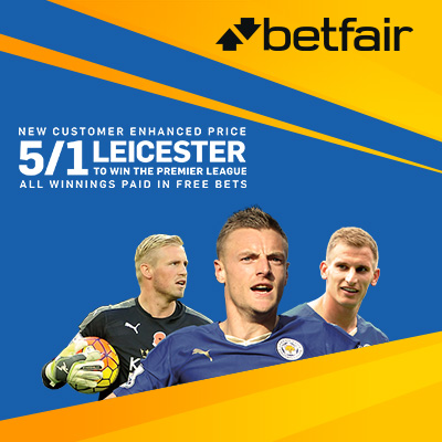 Betfair. promotion.Leicester_EPL_uk