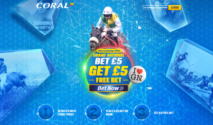 Coral Grand National Promotion