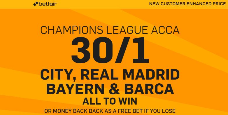 betfair.promotion. acca champions league