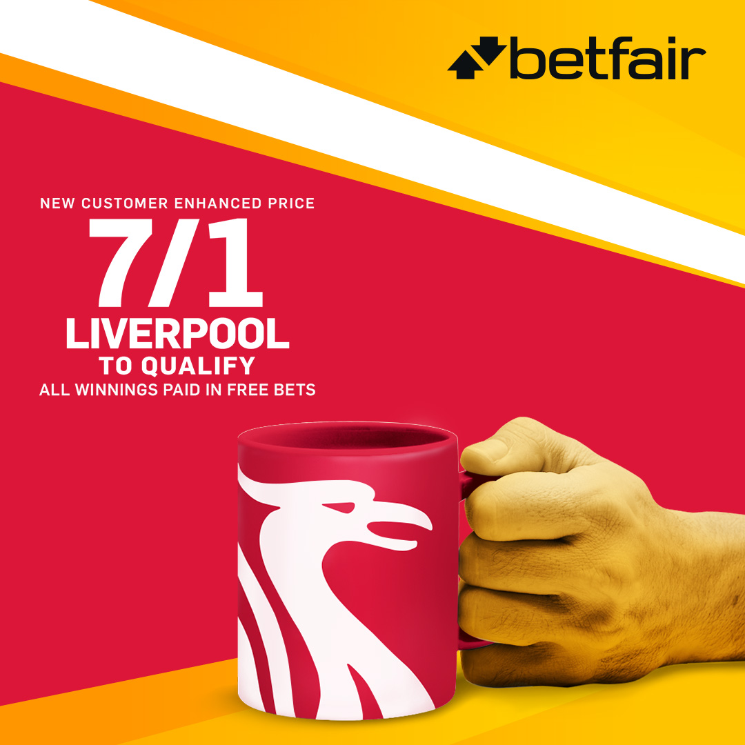Betfair. promotion_Liverpool_to_qualify_uk